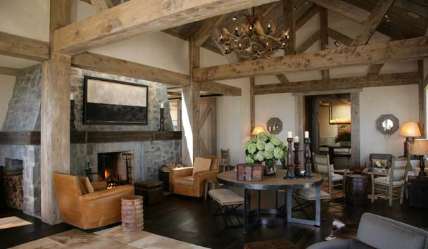 The Farm at Cape Kidnappers: The Main Lounge