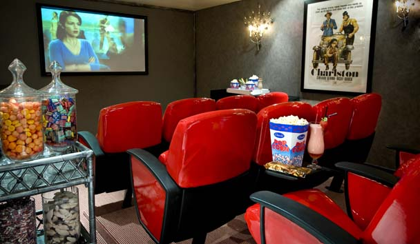 The Twelve Apostles Hotel and Spa: Cinema Room
