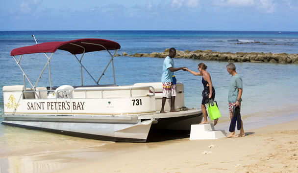 Saint Peter's Bay Luxury Resort & Residences: Boat Trip
