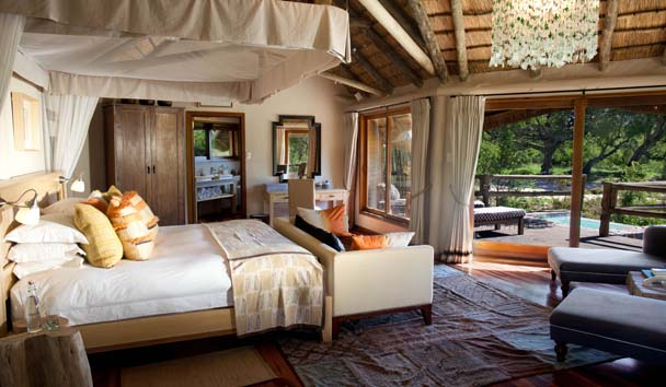 Ulusaba Private Game Reserve: Safari Lodge River Room
