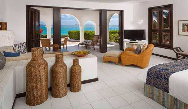 Cap Juluca: Oceanfront Junior Suite