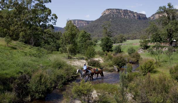 Emirates One&Only Wolgan Valley: Horse Riding Activity