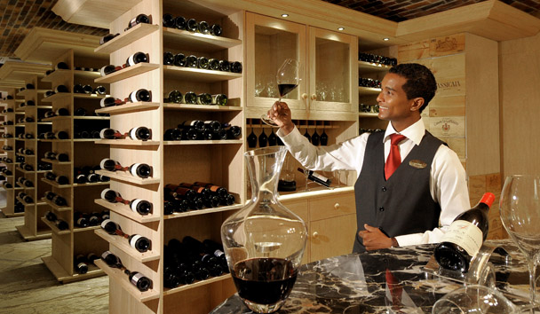 The Sommelier at Constance Le Prince Maurice