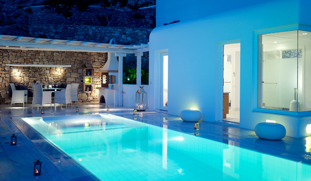 Mykonos Grand Hotel & Resort: Grand Suite with Private Pool