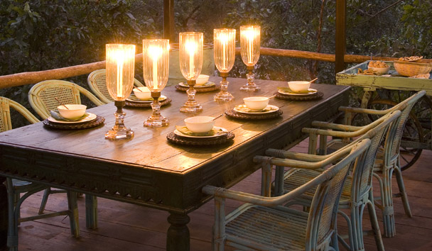 Baghvan Pench Jungle Lodge: Dining