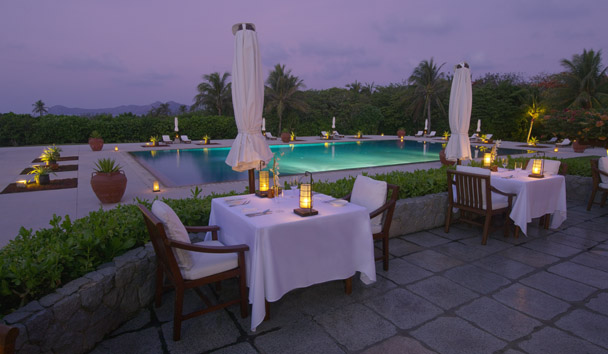 Amanpulo: The Restaurant Terrace