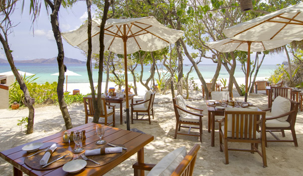 Amanpulo: Beach Club Restaurant