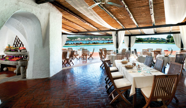 Hotel Cala di Volpe: The Barbecue Restaurant