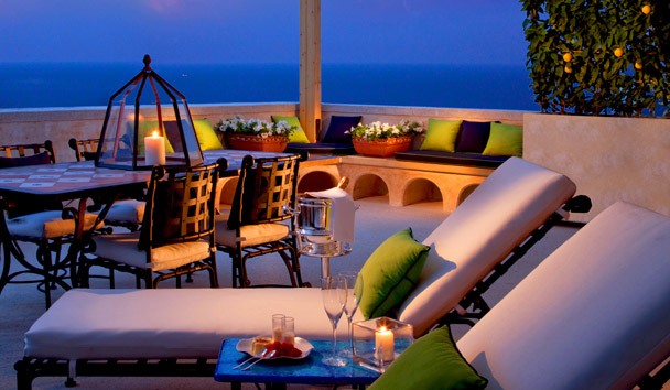 Monastero Santa Rosa Hotel & Spa: Sea View Premium Terrace Suite