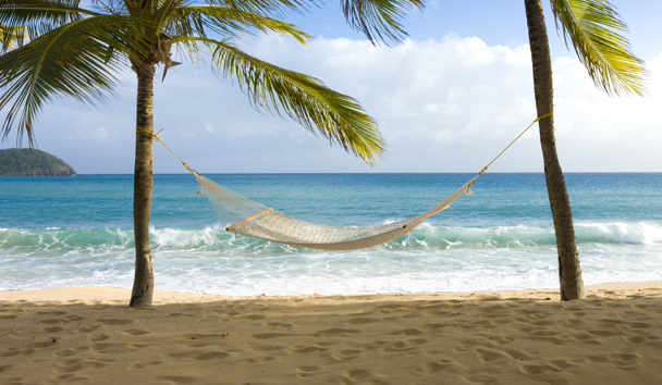 Curtain Bluff: Beach Hammock
