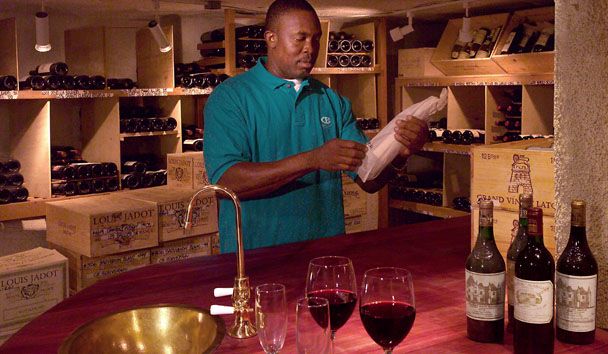 Curtain Bluff: Wine Cellar