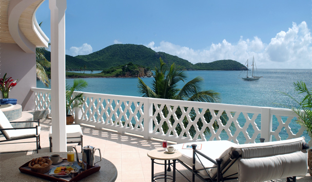 Curtain Bluff: Grace Bay Suite Balcony
