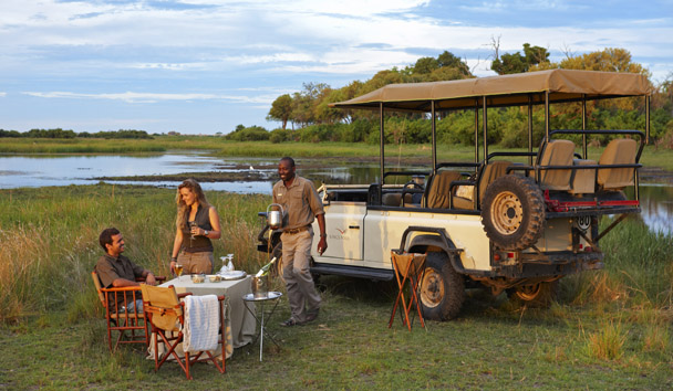 Kings Pool Camp: Private Dining on Safari