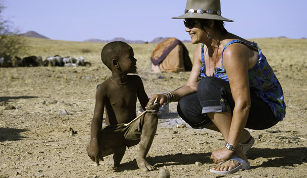 Serra Cafema: Visiting the Himba Community