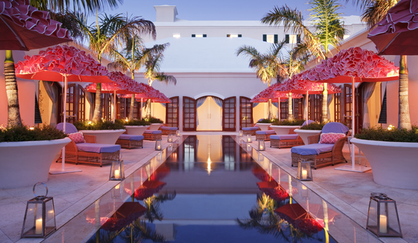 Rosewood Bermuda: Senses Spa Reflection Pool