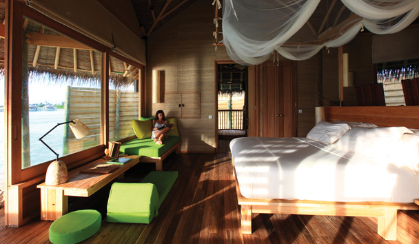 Six Senses Laamu: Lagoon Water Villa