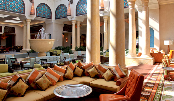 Mazagan Beach & Golf Resort: The Atrium Restaurant