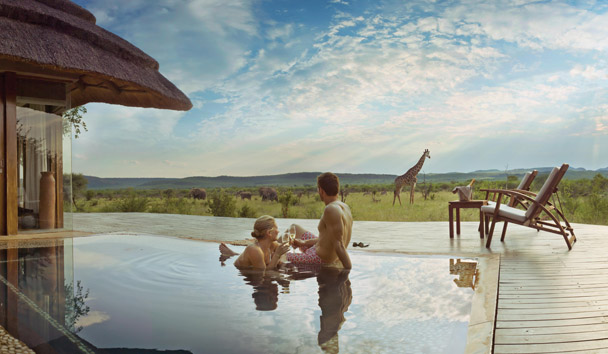 Madikwe Hills Private Game Lodge: Private Plunge Pool