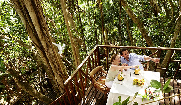 Fregate Island Private: Tree House Dining