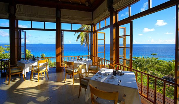Fregate Island Private: Frégate House Restaurant