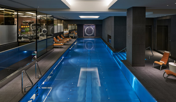 Mandarin Oriental Hyde Park, London: Fitness Centre