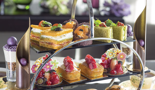 Jumeirah Carlton Tower: Afternoon Tea at Chinoiserie