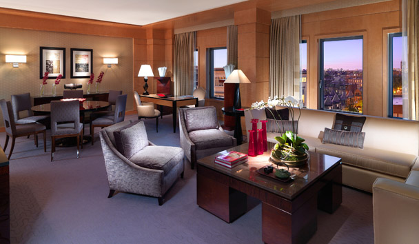 Mandarin Oriental, Boston: Penthouse Suite Living Room