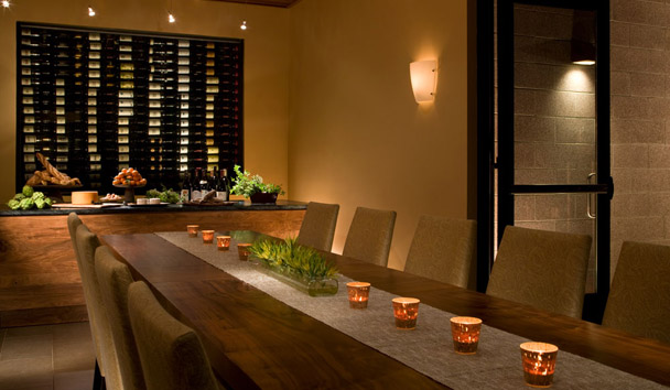 Bardessono: Private Dining Room