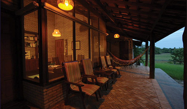 Fazenda Barranco Alto: River View Veranda