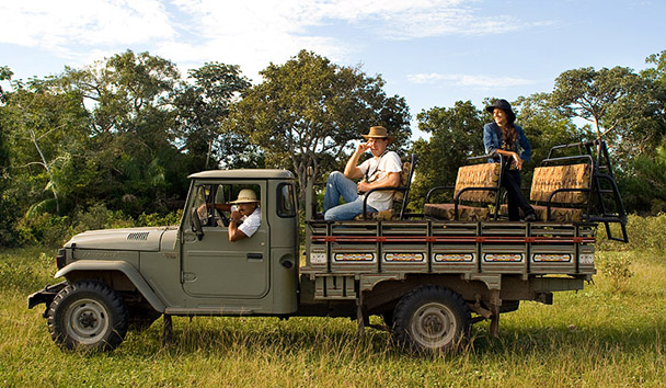 Fazenda Barranco Alto Hotel: Game Drive Excursion