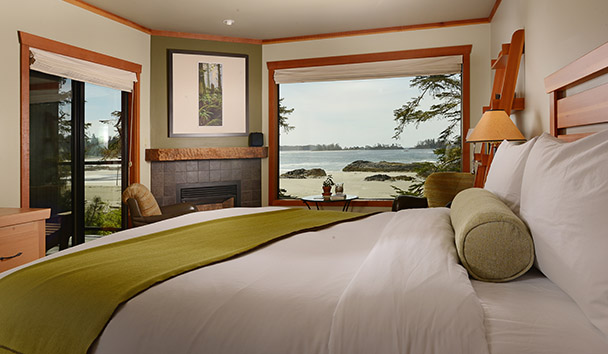 Wickaninnish Inn: Beach Deluxe Room