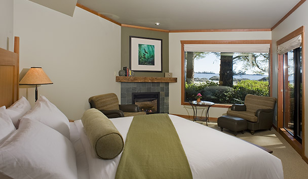 Wickaninnish Inn: Frank Island Suite
