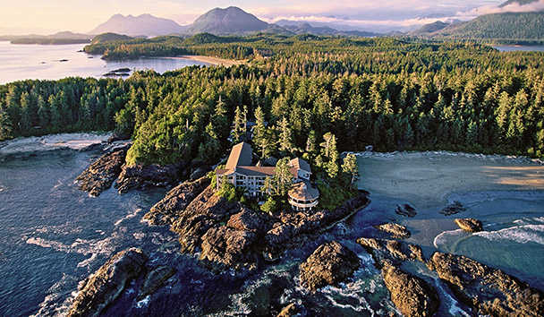 Wickaninnish Inn: Aerial View
