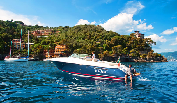 Belmond Splendido Mare, Portofino: Private Motorboat, Chris-Craft Corsair 36