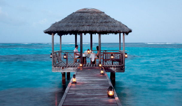 Petit St Vincent Private Island: Private Dining