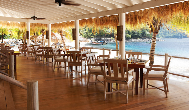 Sugar Beach, A Viceroy Resort: The Bayside Restaurant