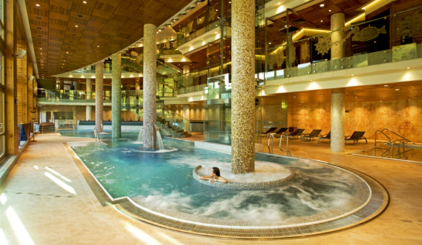 Sport Hotel Hermitage and Spa: Spa Wellness Pool