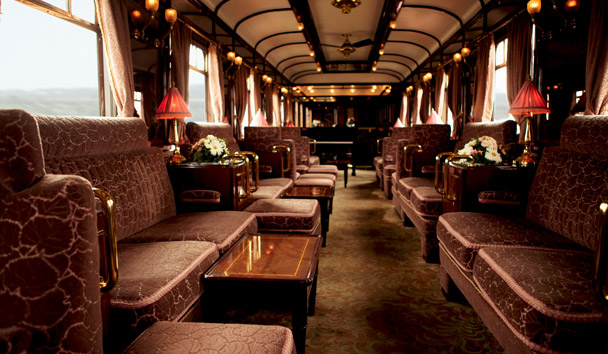 Venice Simplon-Orient-Express: The Bar Car