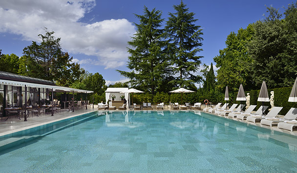 Villa Cora: Swimming Pool