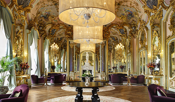 Villa Cora: The Mirror Room