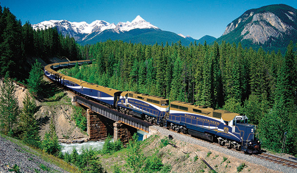 Rocky Mountaineer: Ottertail Creek - First Passage to the West