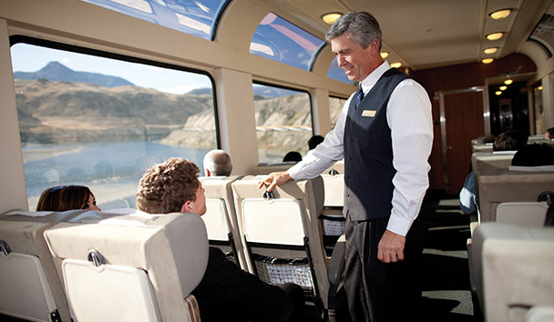 Rocky Mountaineer: SilverLeaf Host