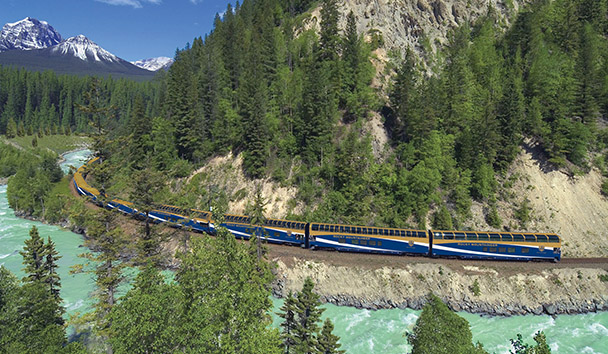 Rocky Mountaineer: Kicking Horse Canyon - First Passage to the West