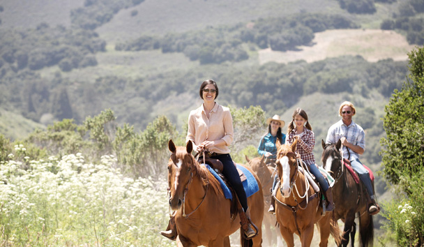 Carmel Valley Ranch: Horseback-Riding