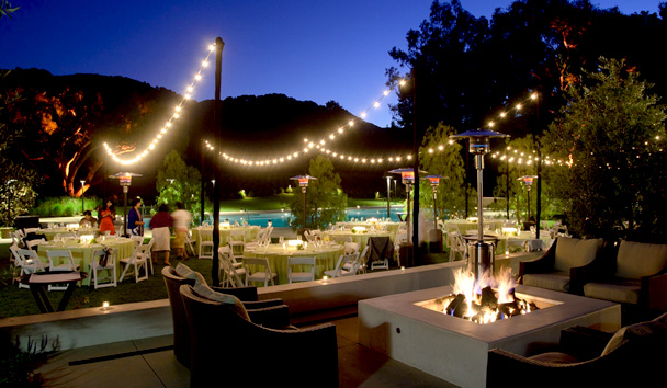 Carmel Valley Ranch: The Clubhouse - Outdoor Dining
