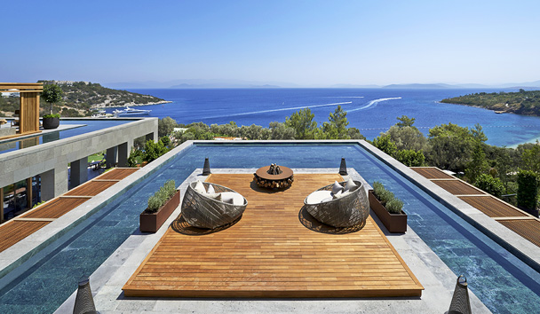 Mandarin Oriental, Bodrum: Floating Lounge Deck