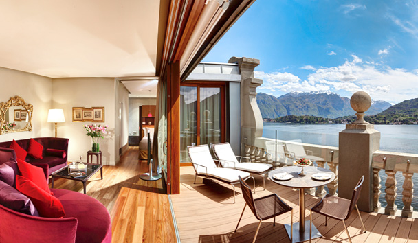 Grand Hotel Tremezzo: Rooftop Front Suite