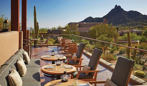 Four Seasons Resort Scottsdale at Troon North: Proof - Outdoor Seating