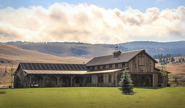 The Ranch At Rock Creek: Events Barn