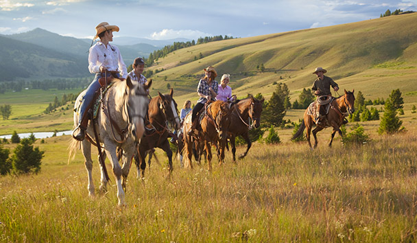 The Ranch At Rock Creek: A Choice of Twice-Daily Activities